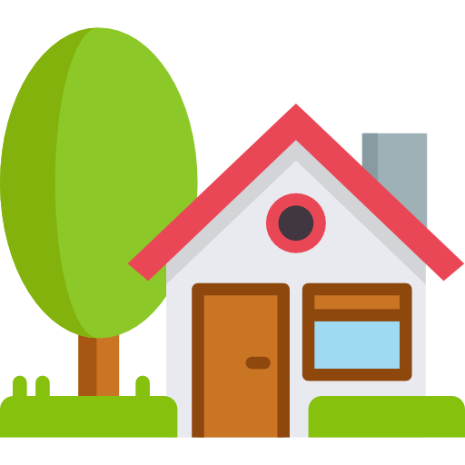 An icon of a house to symbolize the need for life insurance