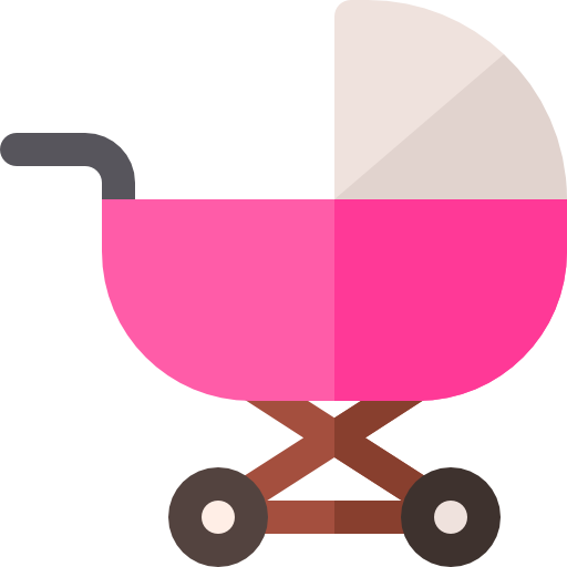 An icon of a baby basket to symbolize the need for life insurance