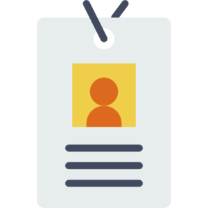 A badge that represents personal accident and sickness insurance for self employed for limited company directors or contractors